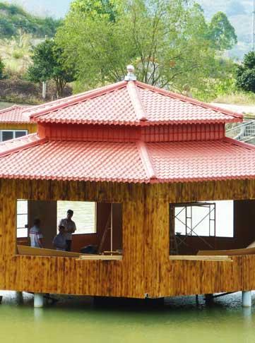 树脂瓦屋顶图片大全